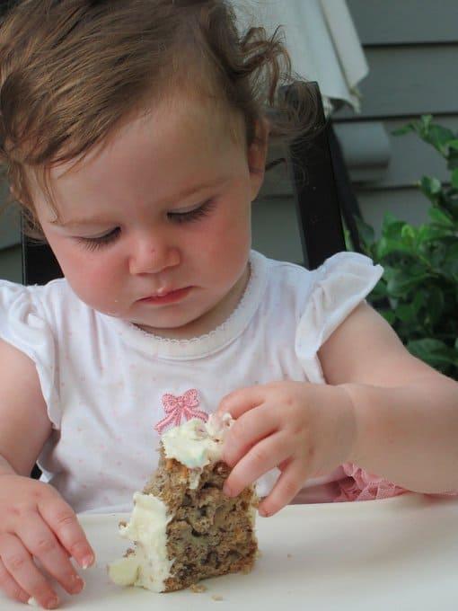 Violet's 1st birthday cake