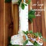 low sugar hummingbird cake, foodlets