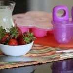 strawberry lemonade popsicle supplies
