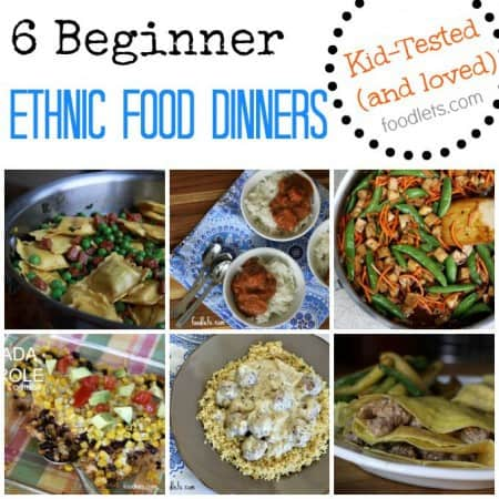 beginner ethnic food dinners