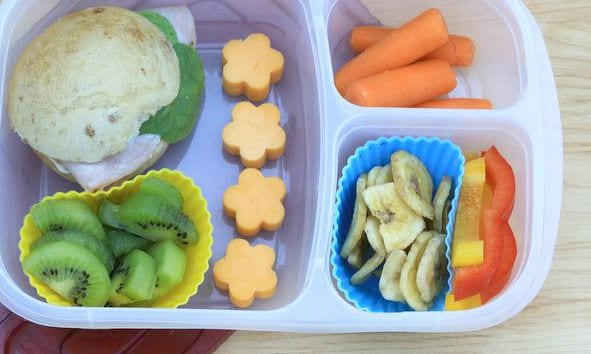 ham sandwich school lunch ideas