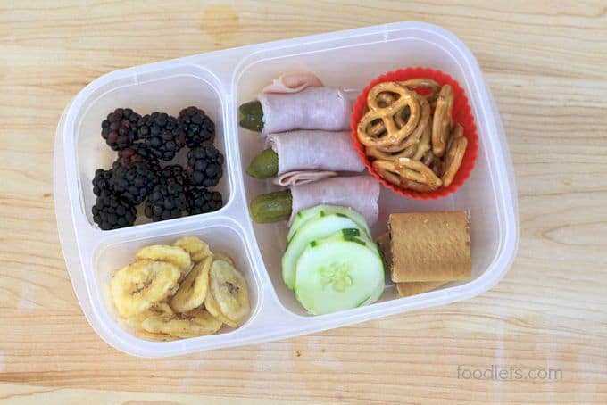 pickle roll ups lunch ideas