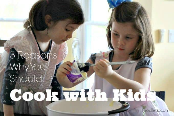 3 reasons why you should cook with your kids; Plus our favorite memory-making recipes for fall