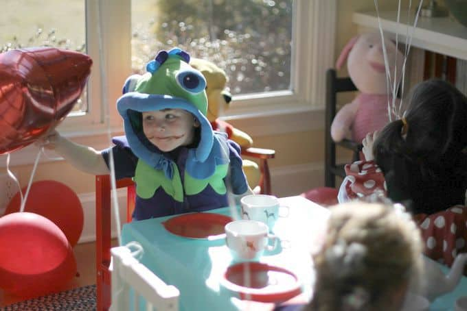 Got a Tea Pot & a Halloween Costume? That's All You Need for the Best 4th Birthday Party Ever