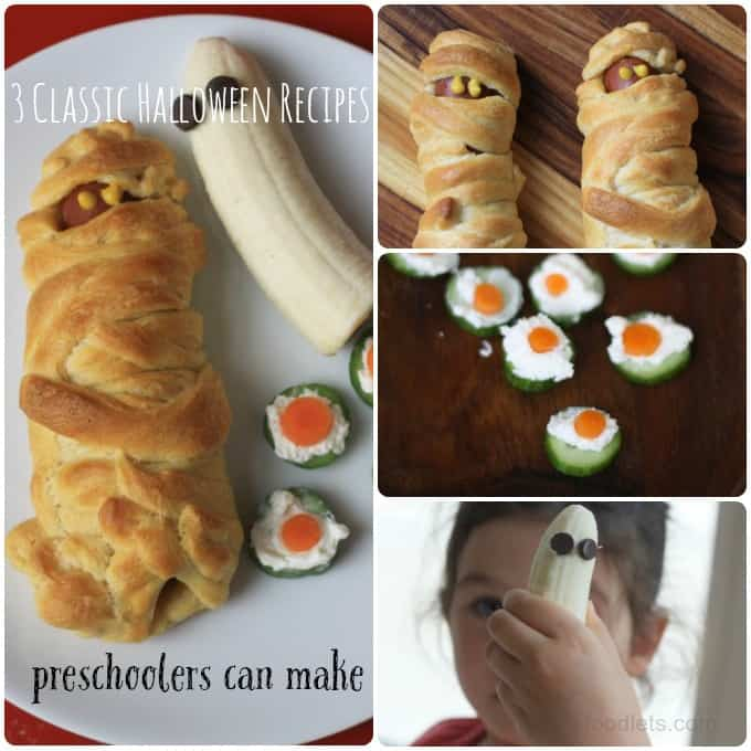 3 classic halloween recipes preschoolers can make foodlets