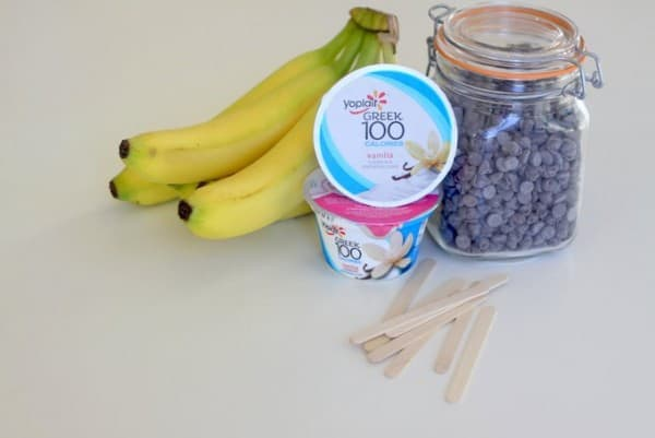 "Frozen Yogurt-Banana ""Boo!"" Pops, a Healthy Halloween Treat Kids ..."
