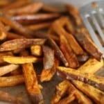 sweet potato fries with cinnamon