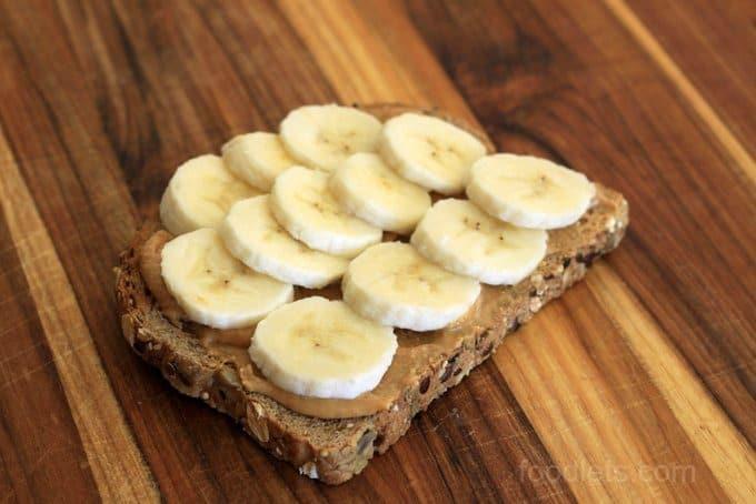 peanut butter banana toast foodlets