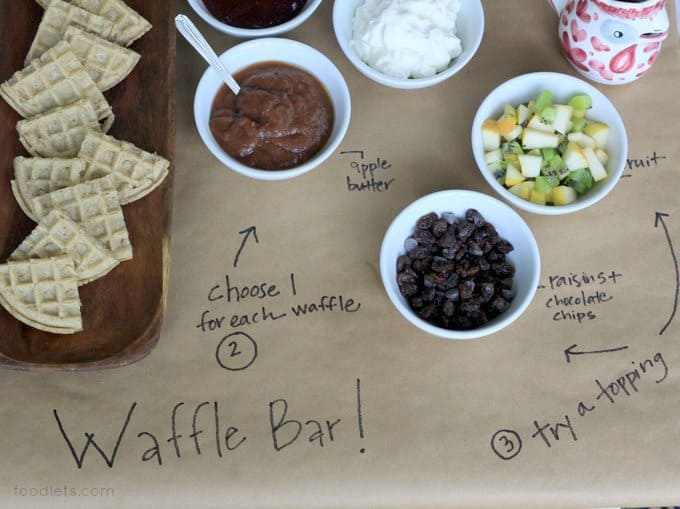 waffle bar toppings