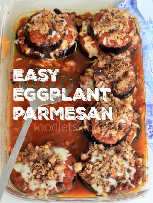 Easy Eggplant Parmesan (No Dredging, No Frying)