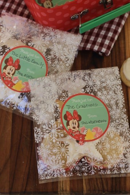 minnie mouse baking set bags