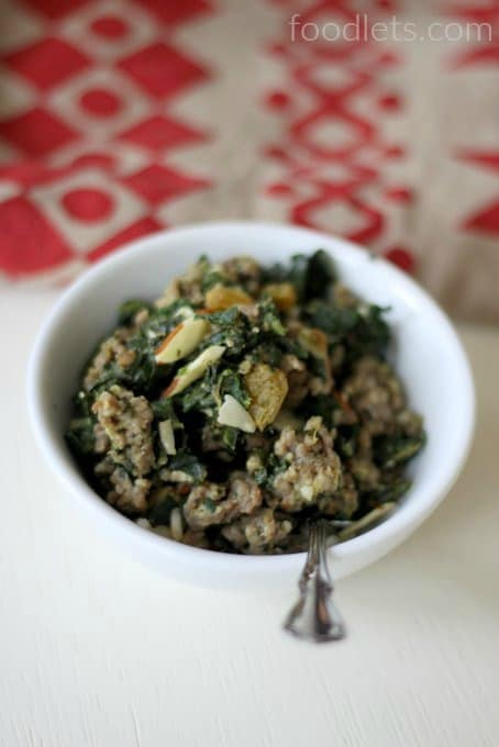 sausage & spinach, 15-minute dinner kids love