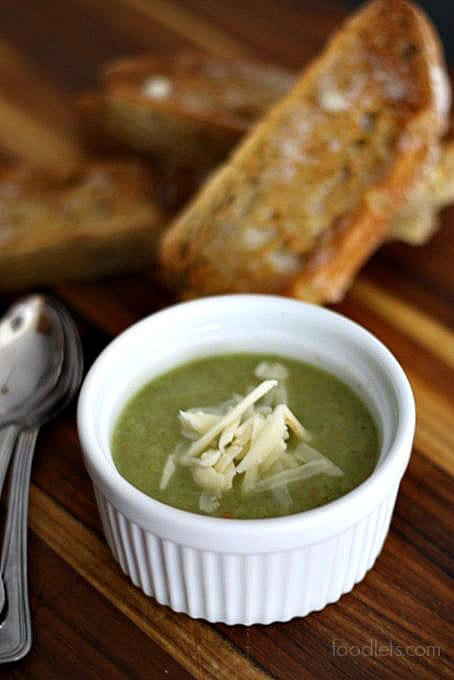 Amazingly Quick & Easy Broccoli Soup that Starts with a Bag of Frozen Broccoli
