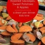 roasted sausages, sheet pan dinner foodlets