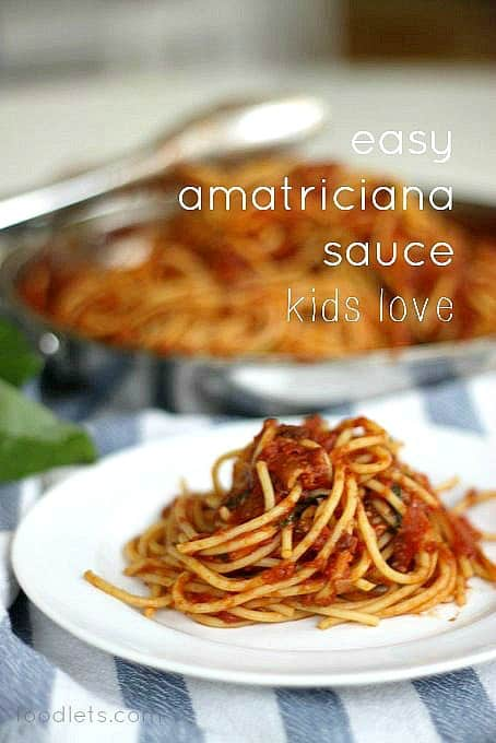 My Favorite Pasta Recipe I Learned Living in Italy: Amatriciana
