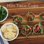mini taco cups, foodlets.com