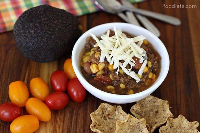 taco soup, foodlets.com