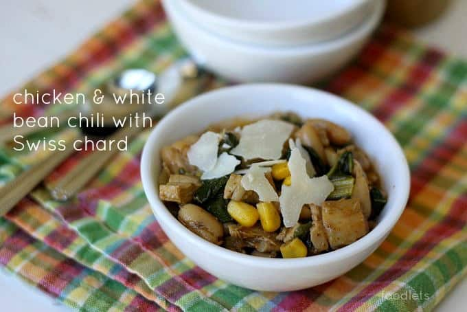 chicken chili with swiss chard foodlets 2
