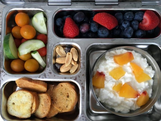 Real school lunches: 5 days of healthy, fast lunches ideas for preschoolers and young kids