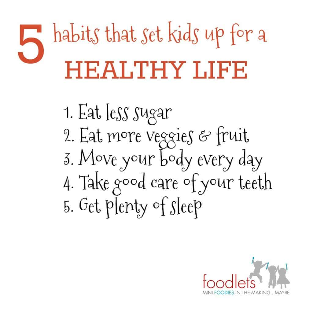 5 habits for a healthy life