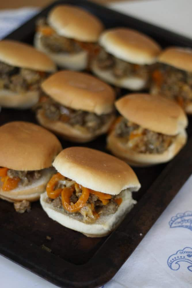 Simple sausage and peppers sliders: A wholesome 15-minute dinner kids love