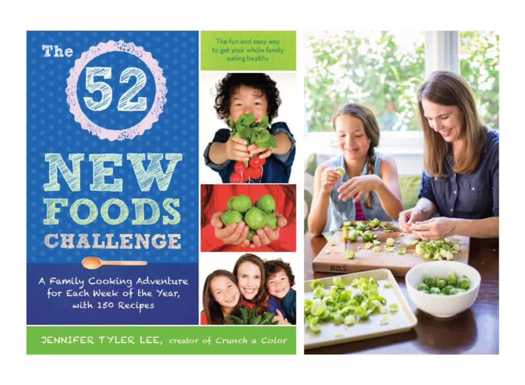 "How to get kids to try new foods: 8 Things I learned from the book ""The 52 New Foods Challenge: A Family Cooking Adventure for each week of the year"""