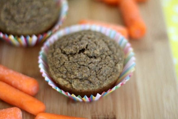 healthy hidden fruit and vegetable muffins for kids