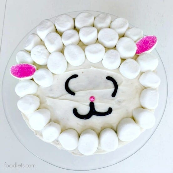 Easy Little Lamb Cake