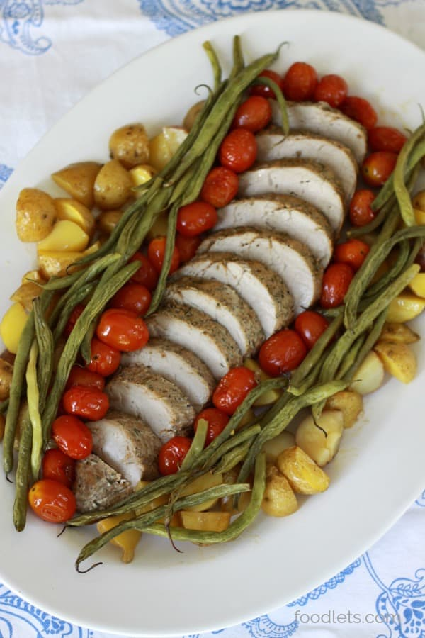 Sheet Pan Pork Tenderloin with Roasted Vegetables: A 25-Minute Meal Full of Flavor