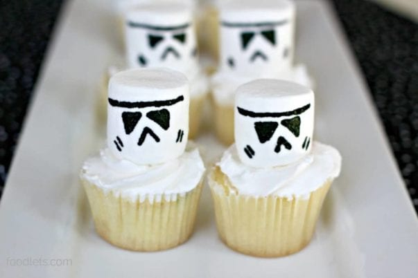 Star Wars Birthday Party Ideas (Including Brilliant Storm Trooper Cupcakes)