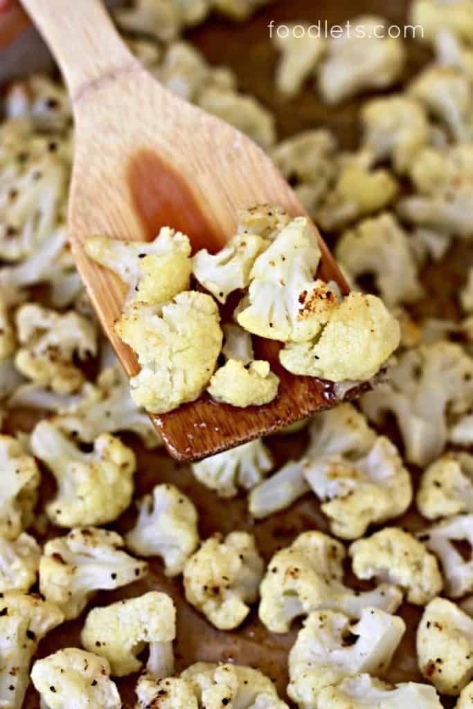 How to make roasted cauliflower no kid can resist, all from a bag of frozen cauliflower