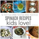 spinach recipes kids love