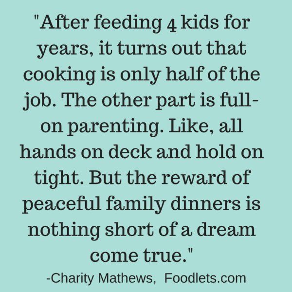 You won't always like dinner, and other life lessons I want my kids to learn