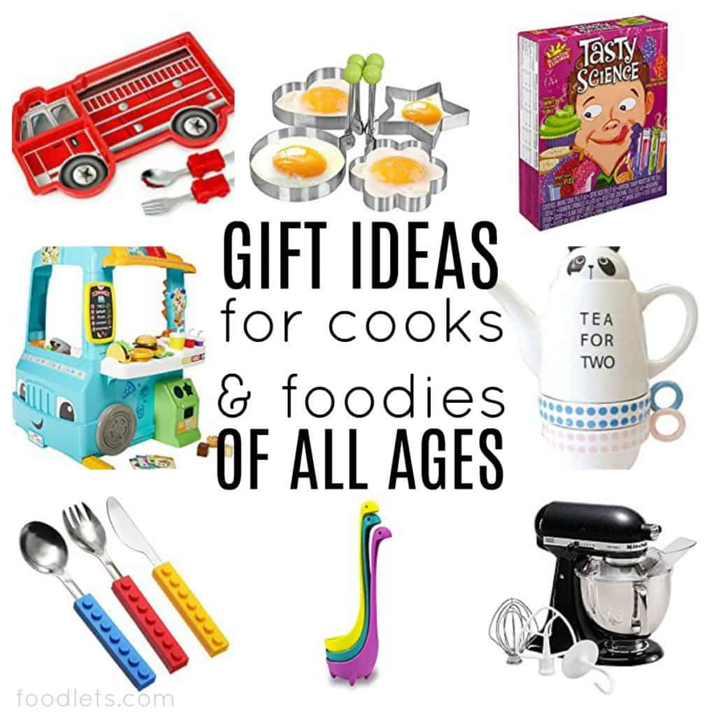 Gift Ideas for Cooks & Foodies at Every age