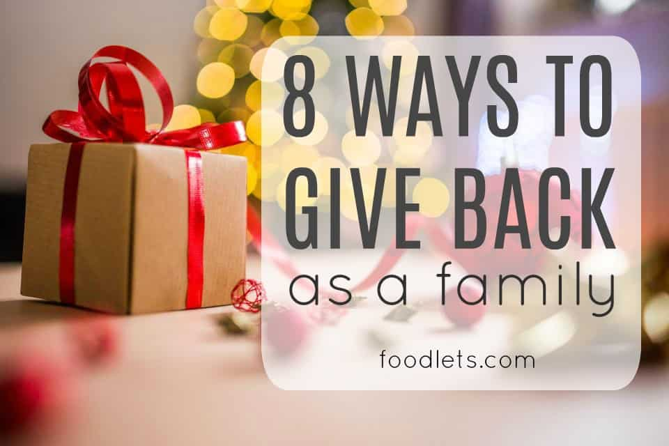 8 Ways to Give Back as a Family
