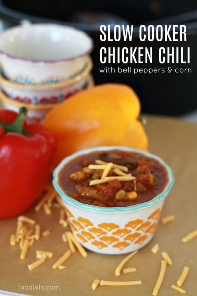 Kid-Friendly Slow Cooker Chicken Chili