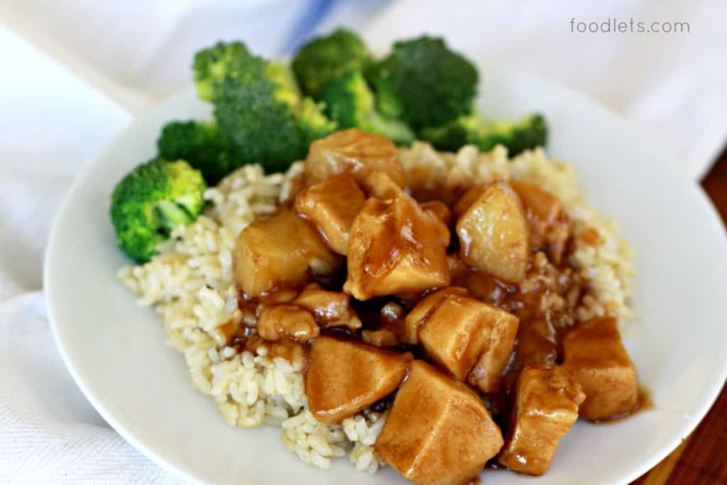 20-Minute, No-Fry, Sweet & Sour Chicken Kids Love: Takeout Recipe Makeover!
