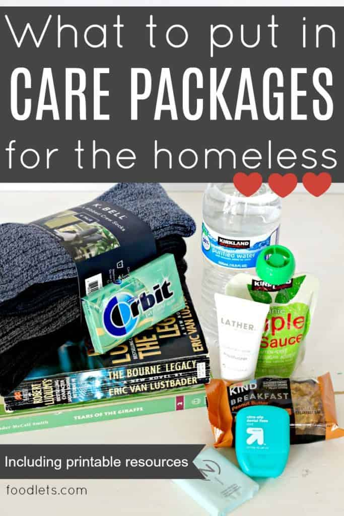 What to Put in Care Packages for the Homeless