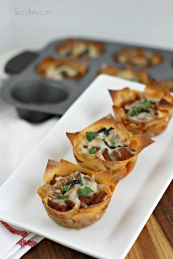 The Best Lasagna Cups in the World