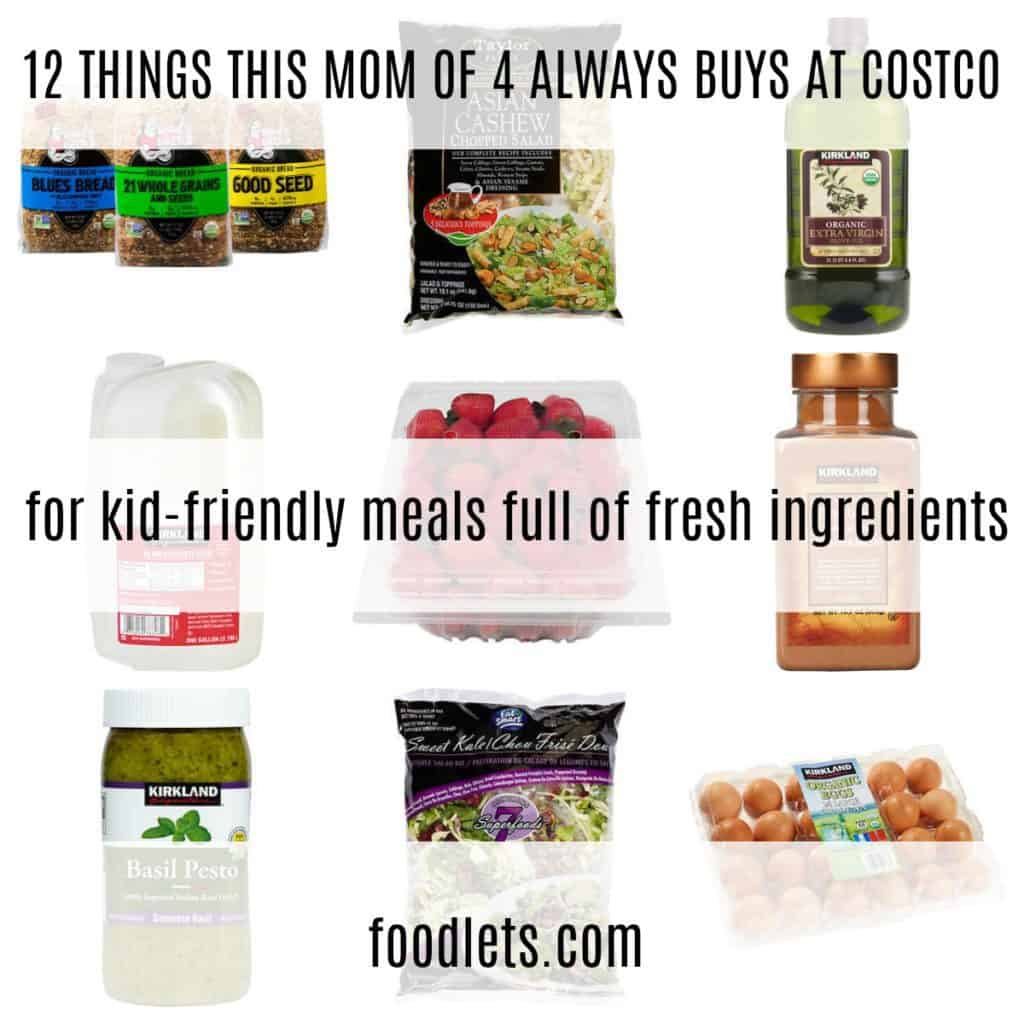 12 Things this mom of 4 always, Always buys at Costco