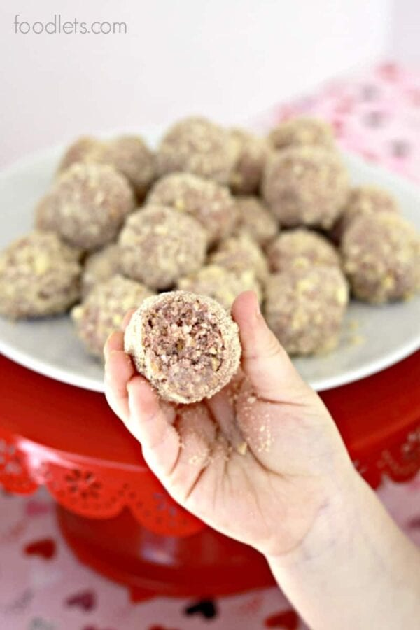 Strawberry Bliss Protein Balls