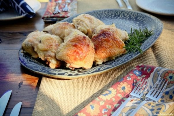 """Buttermilk Roasted Chicken from """"The Farmhouse Chef"""""""