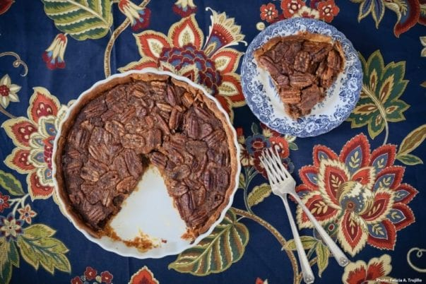 "Cane Syrup Pecan Pie from ""The Farmhouse Chef"""
