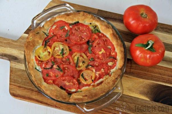 Shortcut Tomato Pie