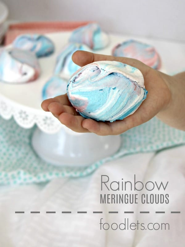 4-Ingredient Rainbow Clouds