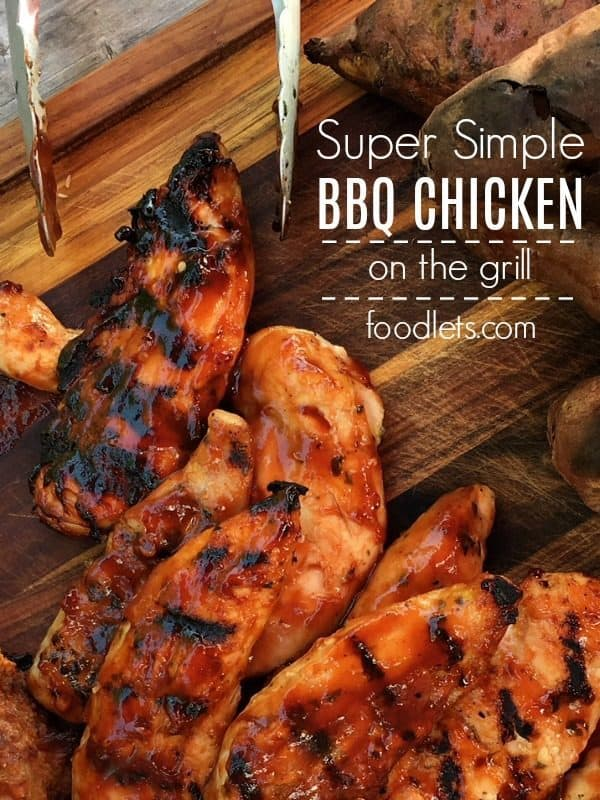 Super Simple BBQ Chicken Tenders