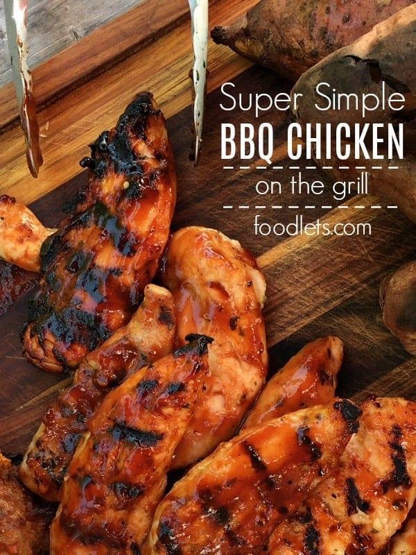 Super Simple BBQ Chicken Tenders
