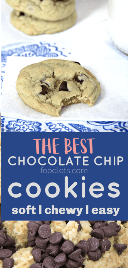 the best chocolate chip cookie recipe PIN