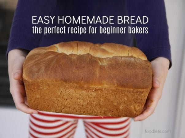 The Easy Bread Recipe Your Kids Can Make Themselves