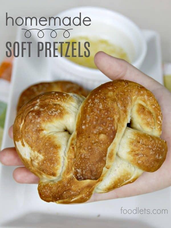 Simple Homemade Soft Pretzels